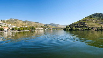 Spain Douro river scenery